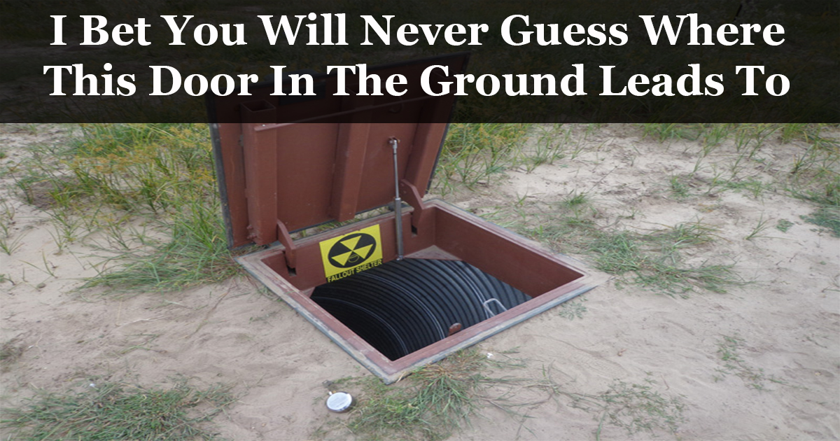 Mysterious Doors in the Ground Lead to Unexpected Treasures