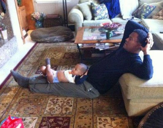 Father like son moments