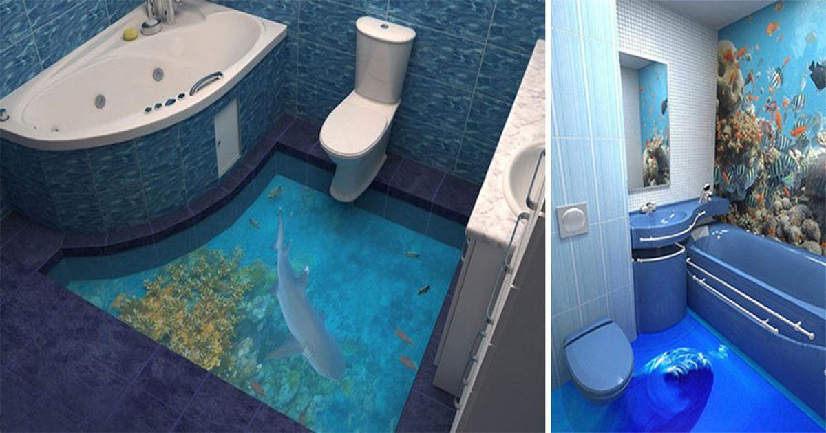 Charming Cool Bathroom Floors Images - Best idea home design ...