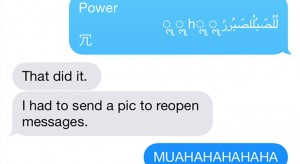How to Crash Someone's iPhone With One Text