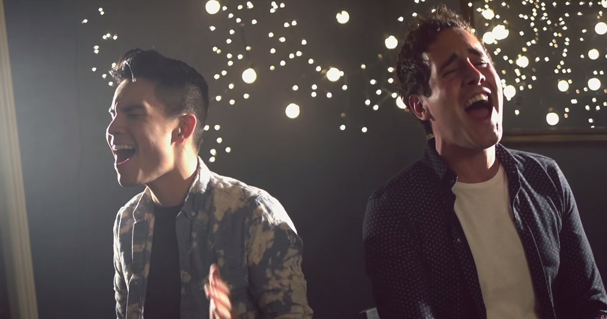 One Sings Ed Sheeran, The Other Sings Sam Smith At The Same Time. The Result? Perfect