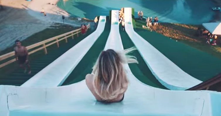 Whatever You Do This Summer, It Probably Won't Be As Cool As This Super Slide