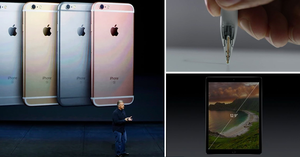 Breaking: Apple Reveals New iPhone 6s AND iPad Pro