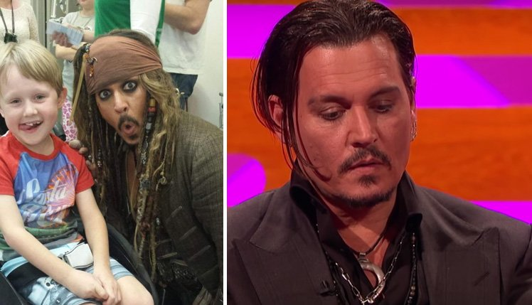 Prepare the tissues johnny depp reveals why he does visits to