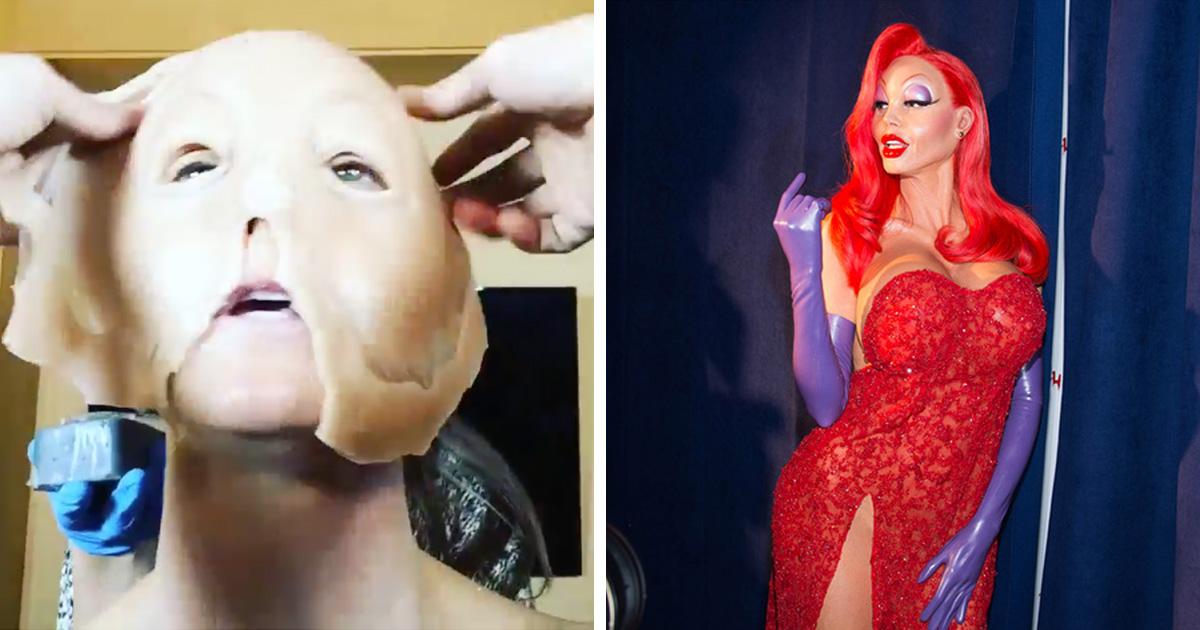 Heidi Klum's Jessica Rabbit Costume Took 10 Hours to Put On