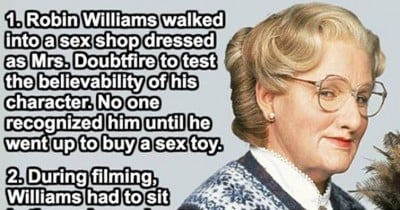 15 Surprising Things Most People Don't Know About Mrs. Doubtfire