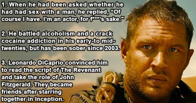 22 Things You Never Knew About Tom Hardy