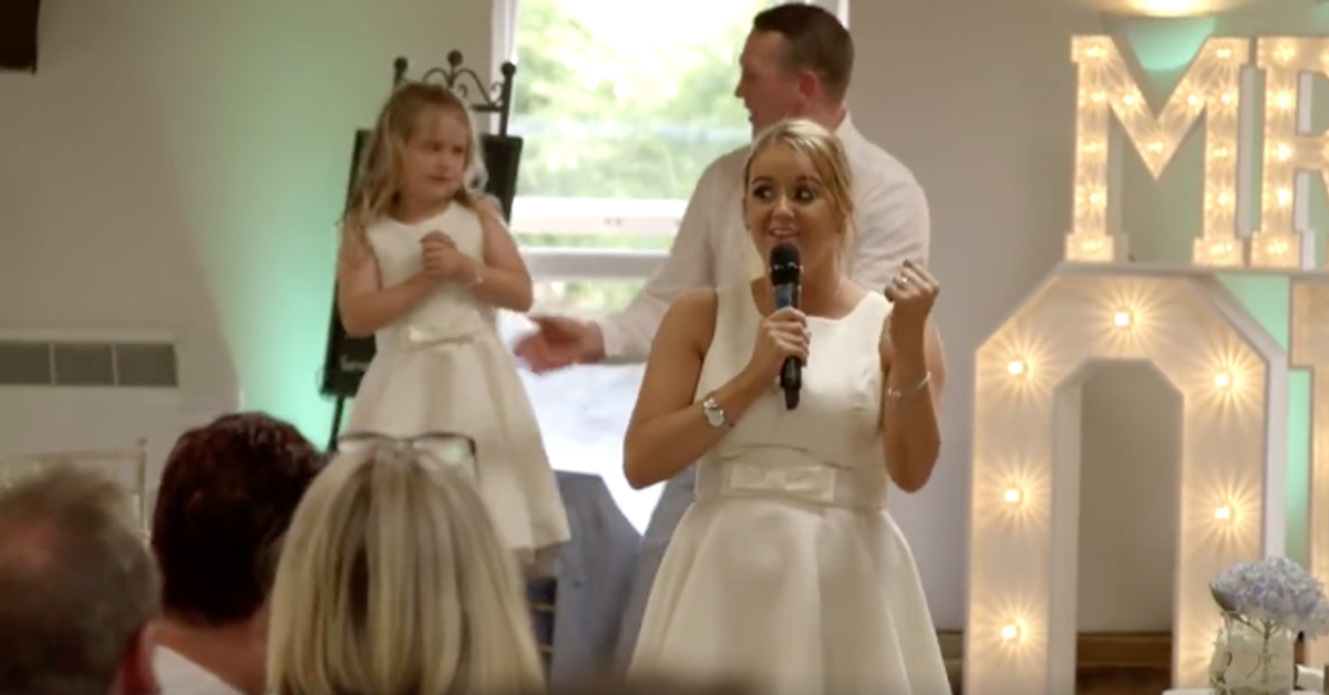 This Maid Of Honour Raps Her Speech To ICE ICE BABY At