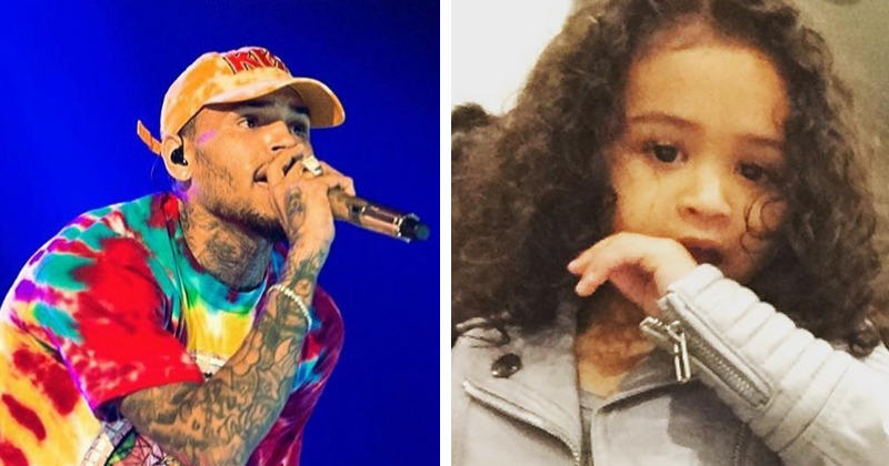 Chris Brown SLAMS His Own Daughters Outfit And Gets Owned By His Ex In The Process