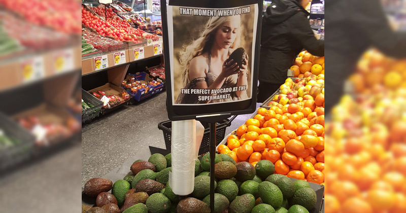 Supermarket tries to cash in on Game of Thrones