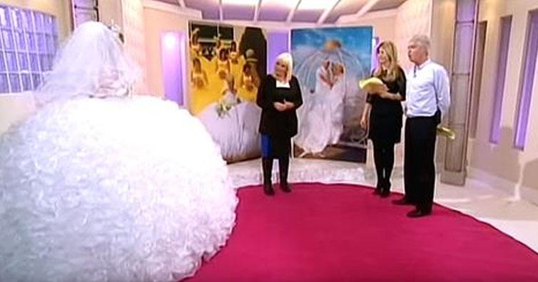crazy wedding dress - Go Social