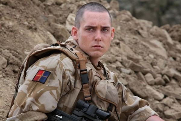 Ben Smith as a solider in TV short Native - Source