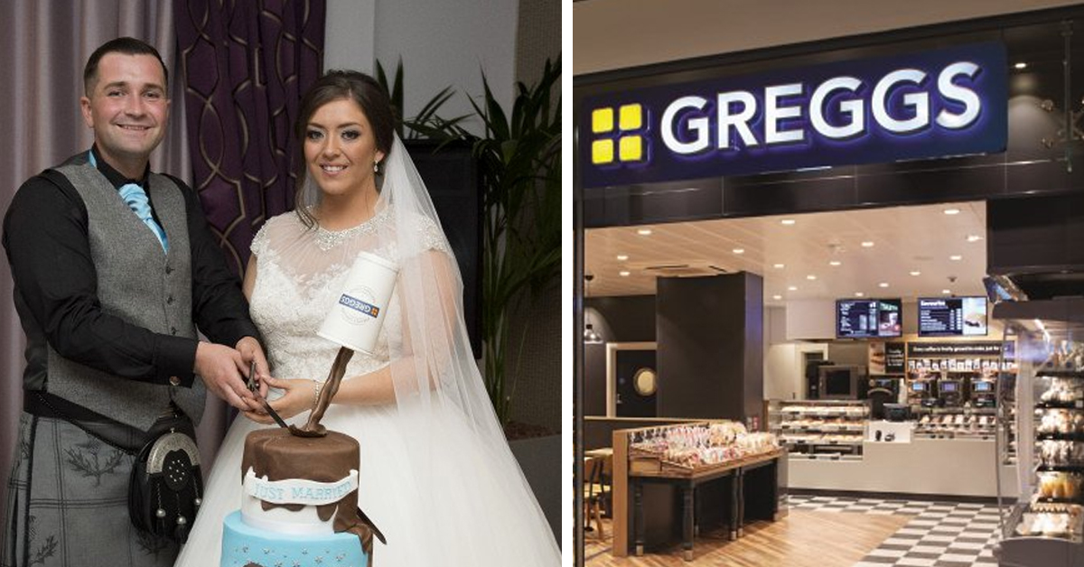 A Match Made In Pastry Heaven Bride And Groom Chose A Wacky Wedding