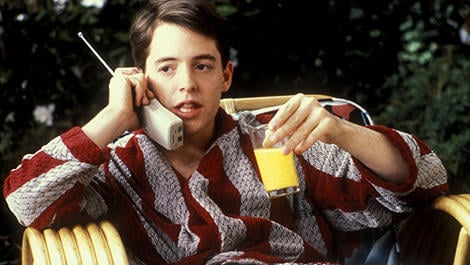 Source: Ferris Bueller's Day Off
