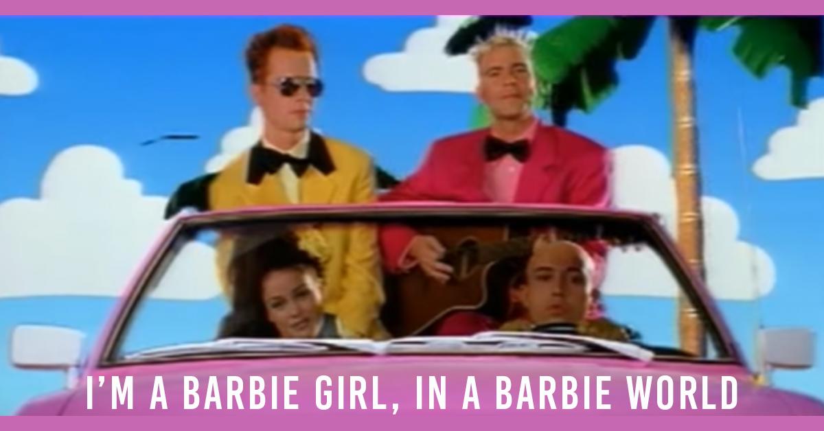 barbie girl in barbie world