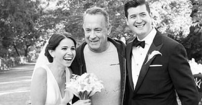 Tom Hanks Photobombed A Couple's Wedding Snaps And We're So Jealous