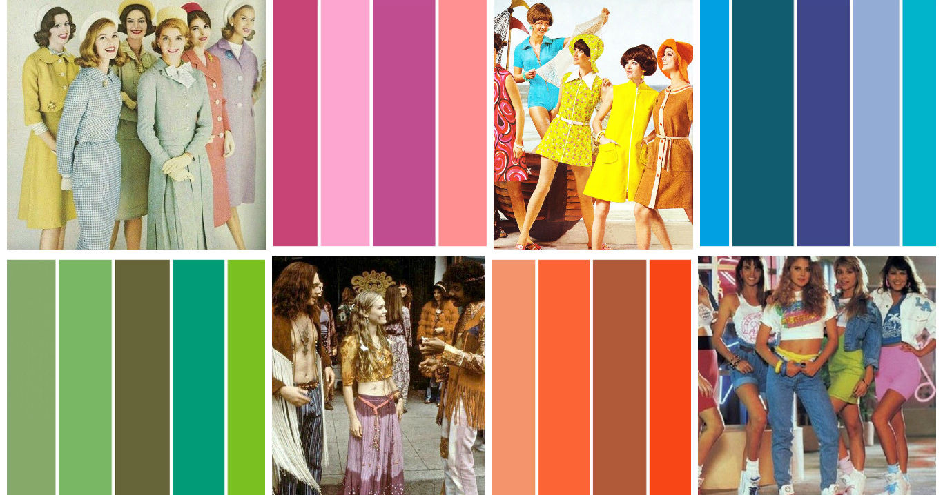 TEST: This Colour Test Will Determine Which Decade Best Fits Your Style!