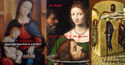 27 Art History Painting Memes That Are Just Too Funny For Their Own Good
