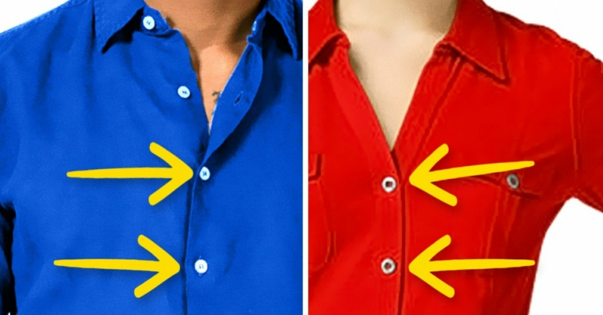 The Real Reason Why Men And Women 39 S Shirt Buttons Are On