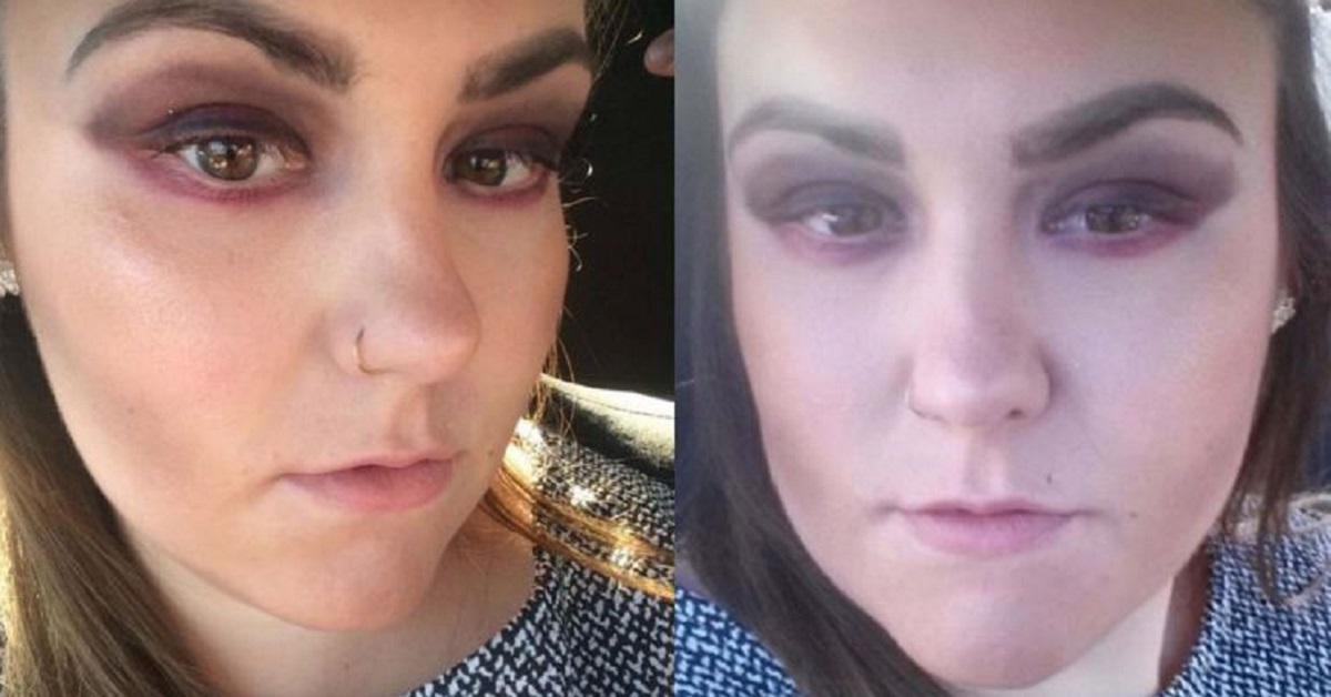 """Professional"" Make-Over From Boots Leaves Woman Looking Like A Clown"