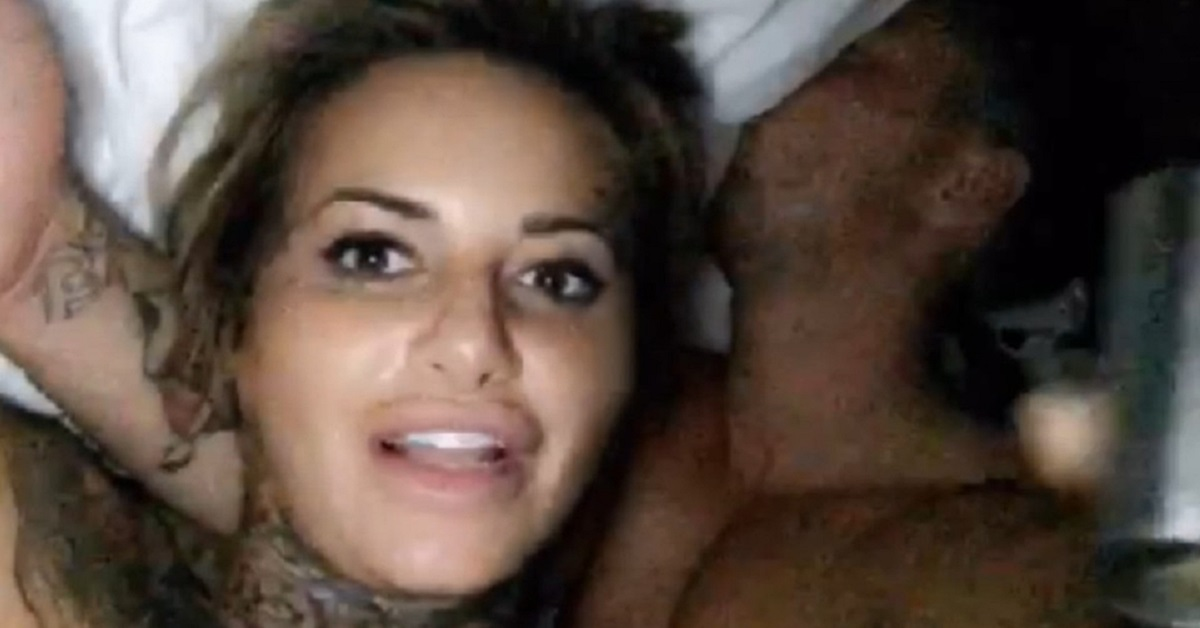 Ex On The Beach Star Jemma Lucy And CBB's Bear Share NAKED Bedroom Selfie