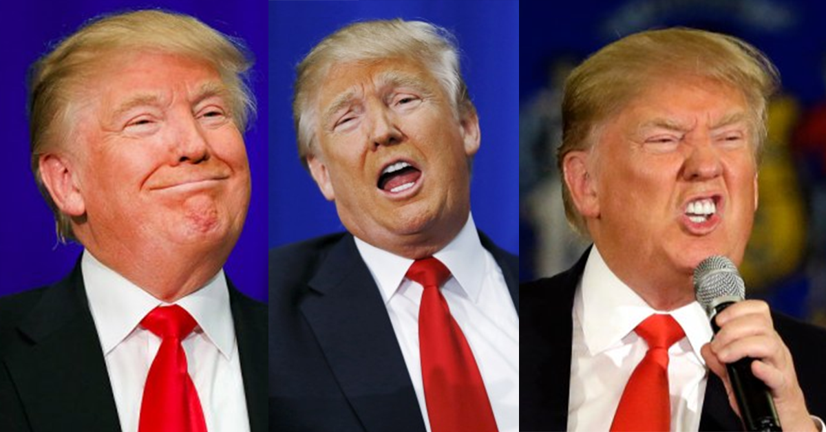 TEST: Which Donald Trump Expression Best Describes Your Personality?
