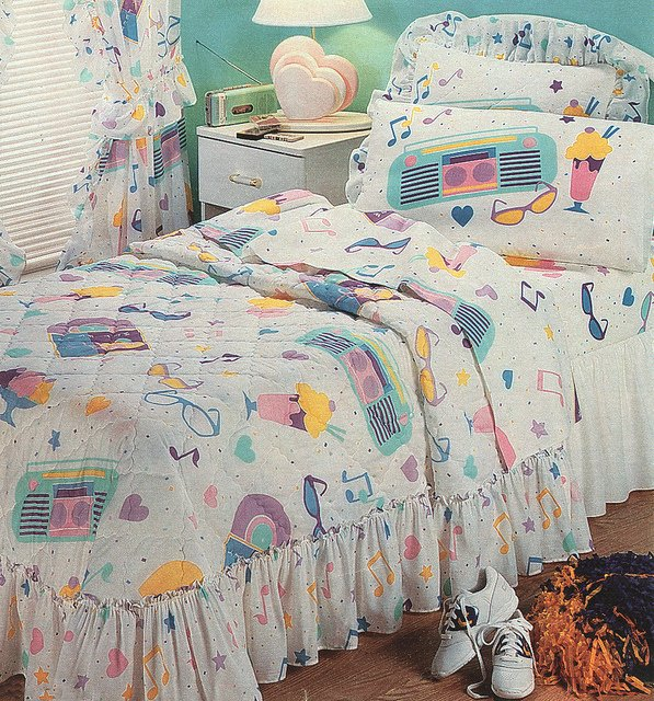 Bedding All 80 S Kids Wanted In Their Bedroom