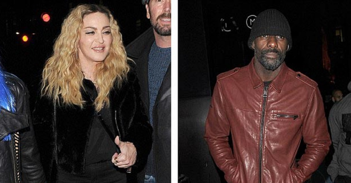Idris Elba Denies Rumours That He's Dating Madonna