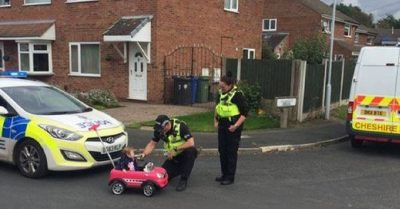 Toddler 'Breathalysed' By Police In Chesire