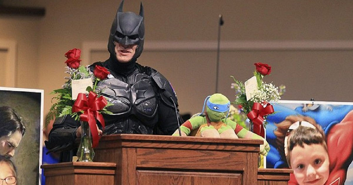 After Being Murdered By A Gunman, This Six-Year-Old Victim Was Honoured With A Superhero-Themed Funeral