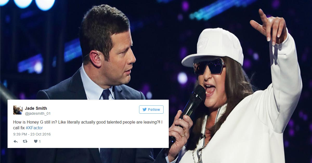 X Factor Viewers Outraged As Honey G Remains In The Competition