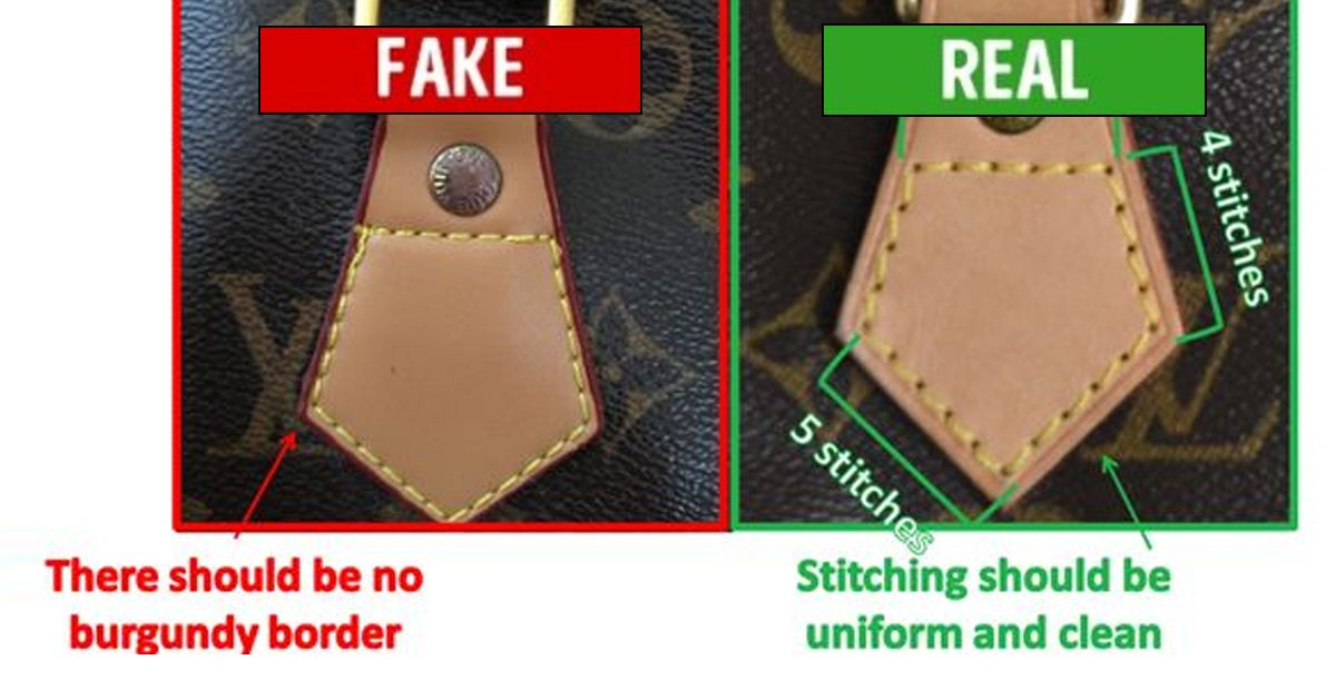 7 ways to spot fake designer handbags for Fake design mobel