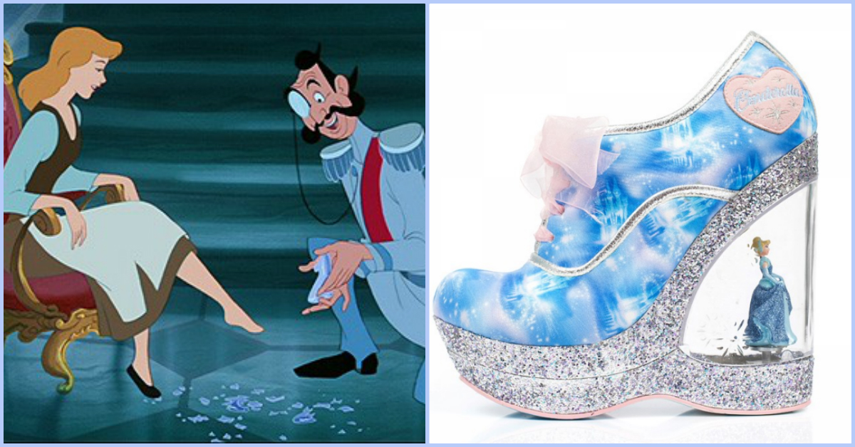 these cinderella inspired shoes are a disney dream come true