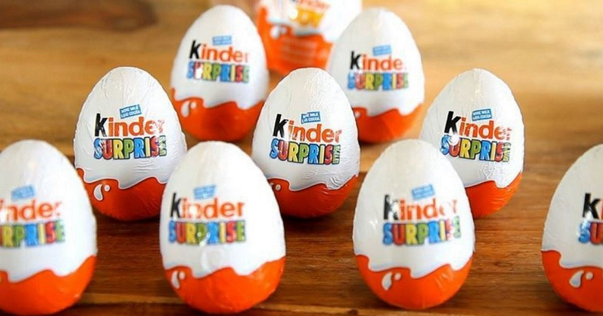 You Won't Believe The Ridiculous Reason Why Kinder Eggs Are Really Banned In The US