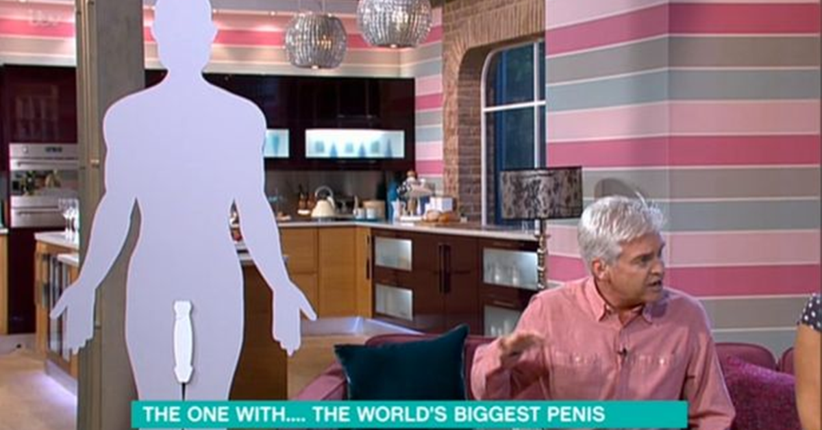 "Holly Willoughby In Hysterics Over ""Biggest Penis In The World"" On This Morning"