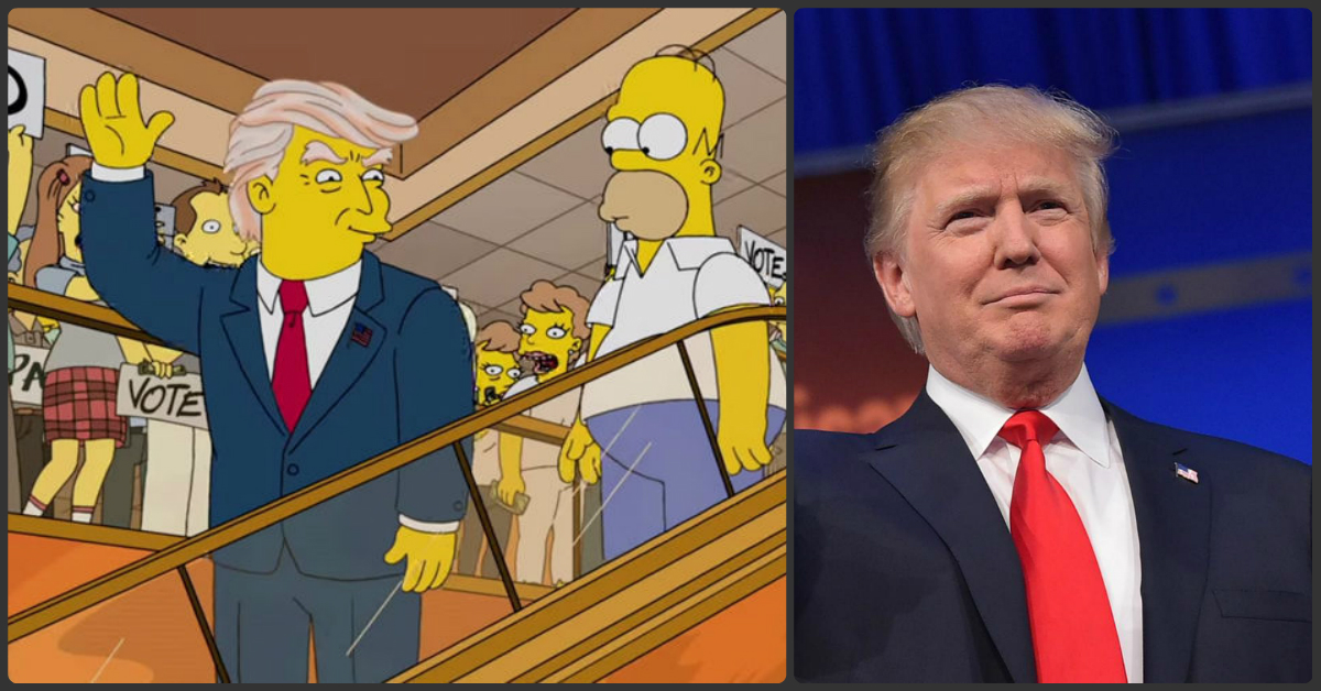 How A Writer For The Simpsons Predicted Trump Becoming President