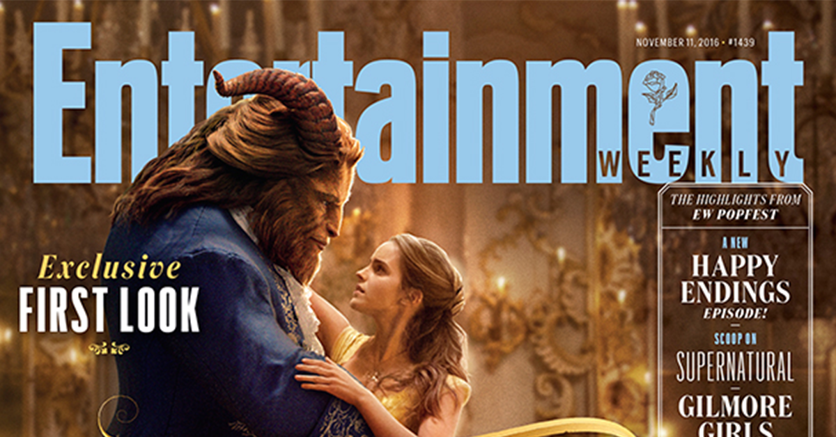 First Official Photo Of Emma Watson As 'Belle' In 'Beauty & The Beast'