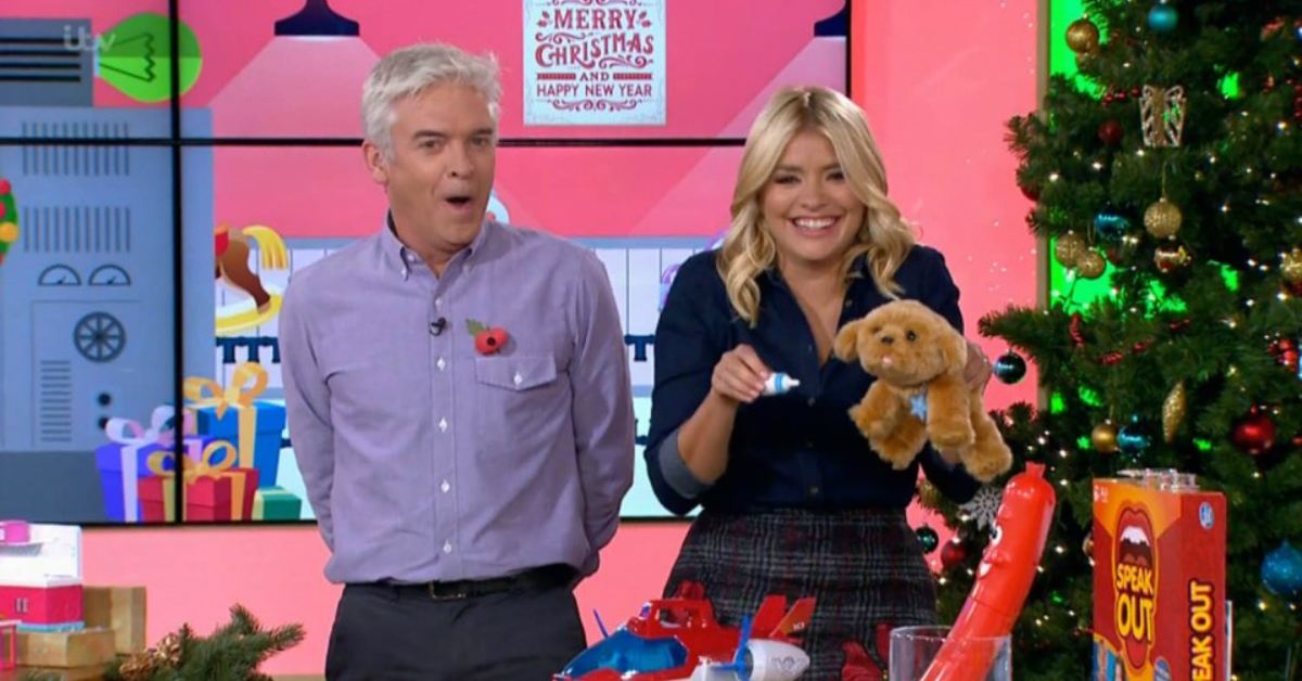 Did Holly Willoughby Just Fart Live On Air?