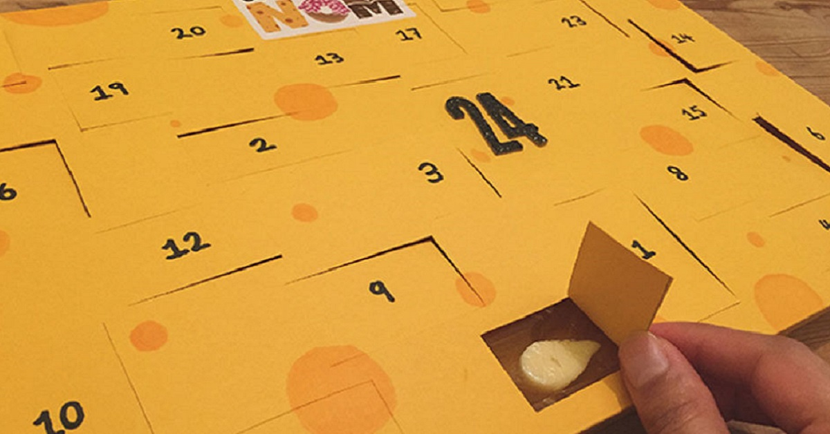 Christmas Just Came Early Because Cheese Advent Calendars Are Now A Thing