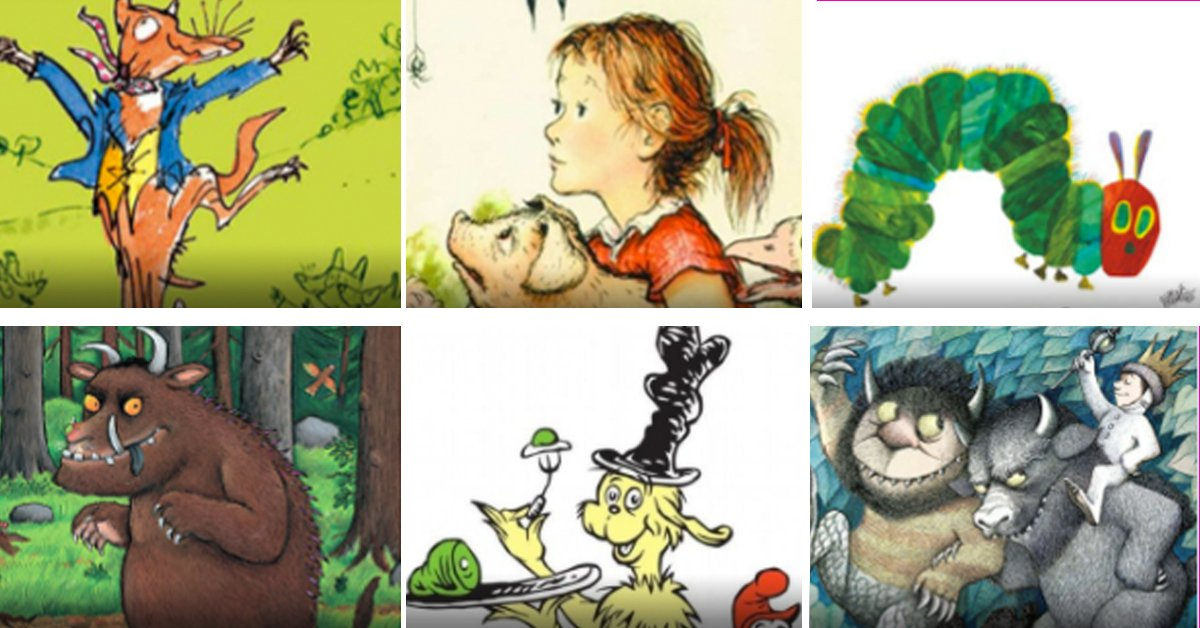 TEST: How Well Do You Remember These Children's Books From Your Childhood?