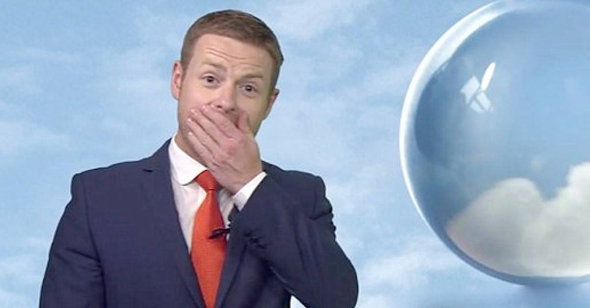BBC Weatherman Has A Rough Time The Morning After The BBC Christmas Party…