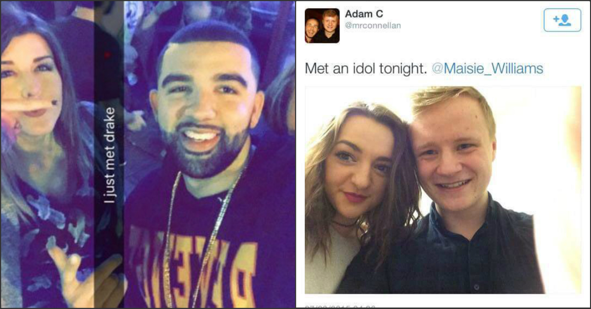 15 People Who Think They Met A Celebrity