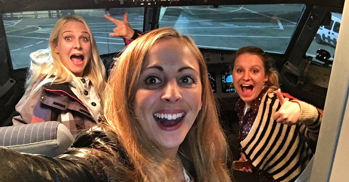 These Three Ladies Discovered They're The Only Passengers On A British Airways Flight – End Up On The Poshest Plane Ride Ever!