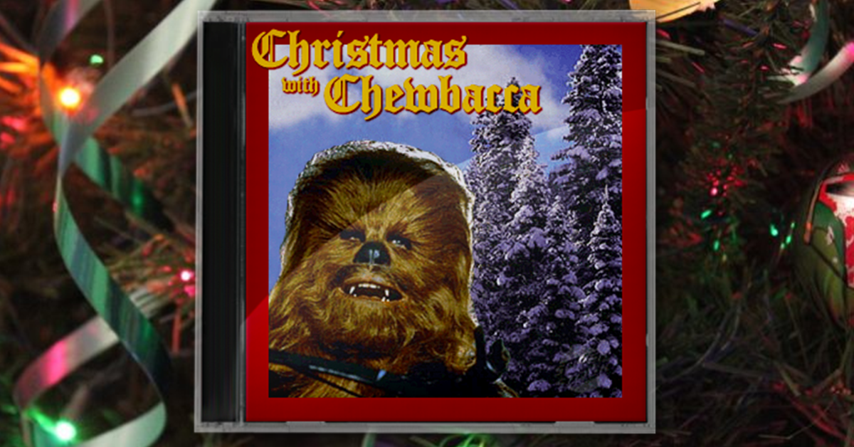 "Chewbacca Sings ""SILENT NIGHT"" In Native Shyriiwook Language. Because Christmas."