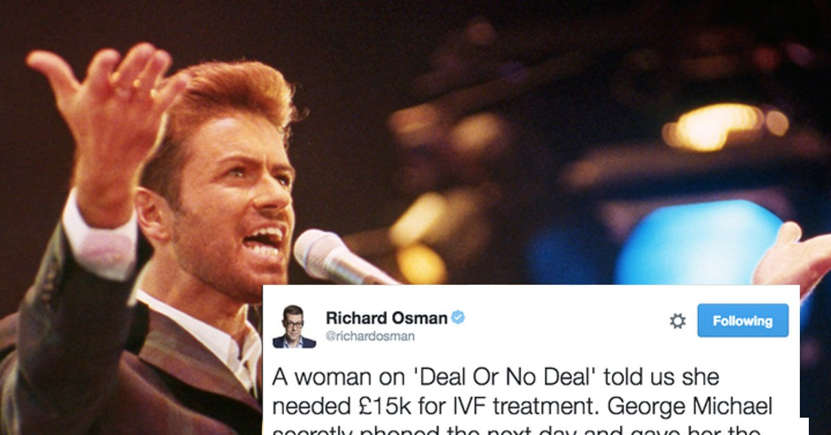 People Are Sharing Stories About How Generous George Michael Really Was