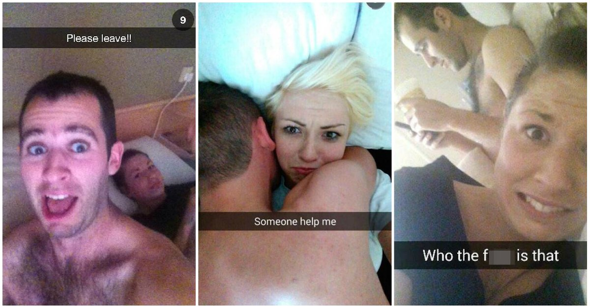 'Why Is She Still Here?' Some Of The Most Hilarious One-Night-Stand Selfies Ever!