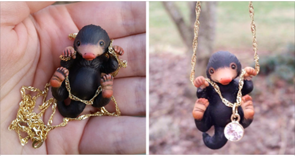 There's A Niffler Necklace And Every Fantastic Beasts Fan Will Want One!