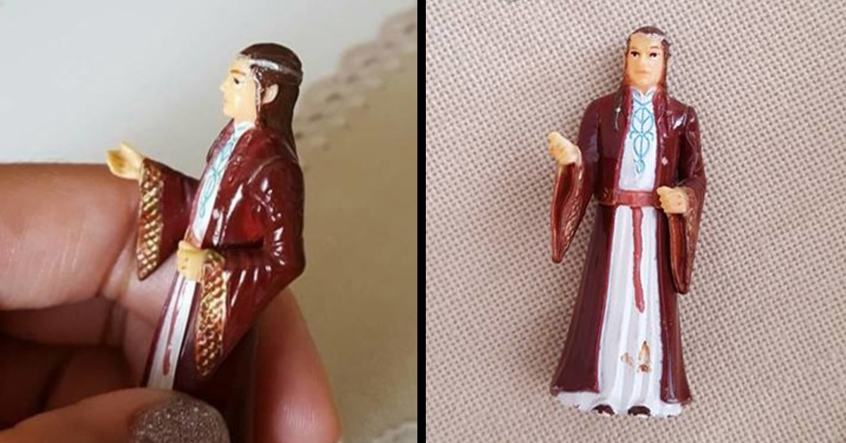 """Grandmother Has Been Praying To A """"Lord Of The Rings"""" Figurine For Years"""