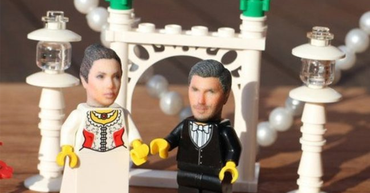 You Can Get Your HEAD 3D Printed To Make Your Own Lego Toy Figure!