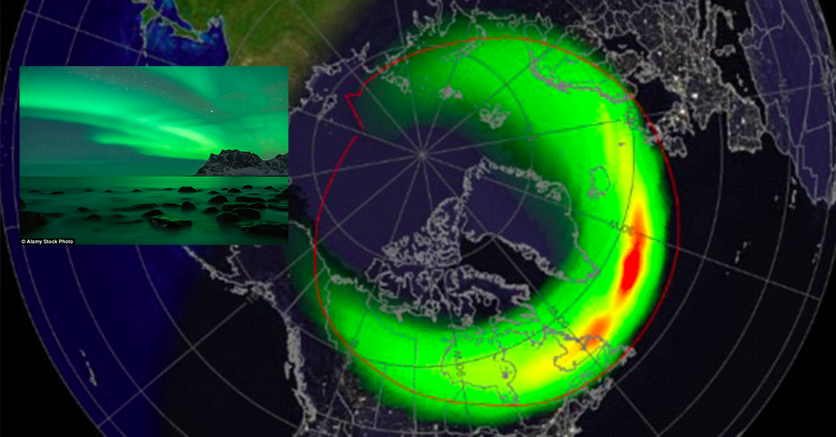 Look Outside! The Northern Lights Could Be Seen By Millions Tonight!